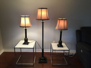 Moving Sale  - Lamp Set