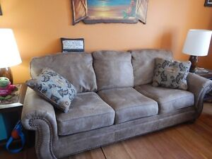 Matching Sofa and Recliner
