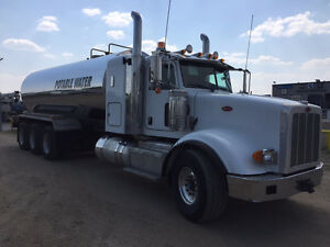 Pete Potable tridrive water truck