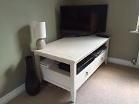 TV unit with two draws, bought from John Lewis