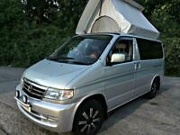 2002 MAZDA BONGO 2.5 PETROL V6 JAL MUSHROOM ROOF SIDE CONVERSION 79K MILES!