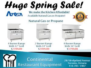 New & Used Restaurant Equipment Toronto Warranty Service