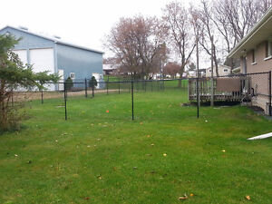 Chain link fencing Kitchener / Waterloo Kitchener Area image 1