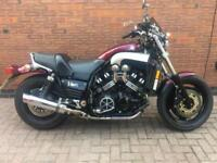 1998 - YAMAHA VMAX 1200 - RED - STUNNING CONDITION - ONLY 17K MILES - VMX V MAX