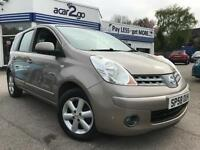 2008 Nissan NOTE ACENTA Manual MPV