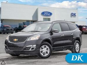 2015 Chevrolet Traverse LTZ  w/Leather, Heated Seats, Rem Start,