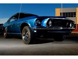 Fully Restored 1969 Ford Mustang Coupe Grande