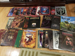 Collection of RPG books for sale