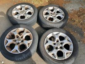 "Vauxhall tiger claw 16"" wheels"