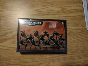 Warhammer 40k Necron Warriors (New in box, opened but unused)
