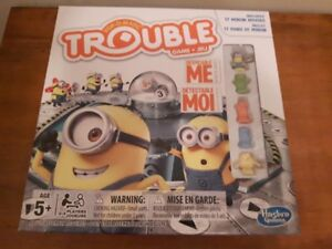 DESPICABLE ME POP-O-MATIC TROUBLE GAME MINT