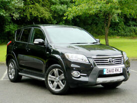 2010 Toyota RAV4 2.2D-CAT - AUTO - SR WITH FTSH+SATNAV+LTHR+CAMERA++