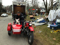 Sidecars, Royal Enfield, Ural, Scooters, Trikes, and Motorcycles
