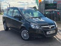 2013 63 Vauxhall Zafira 1.6 i Exclusiv 7 seater 5Dr