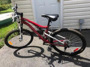 "Girls 24"" CCM Vandal bike."