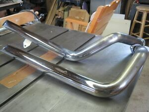 Sportser exhaust pipes