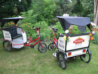 PETER PATCH PEDICABS !! GOTTA GETTA RIDE !!