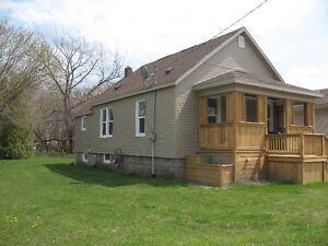 Renovated home with large lot