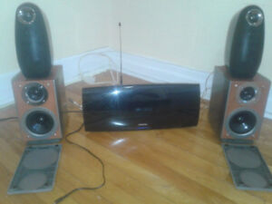 Samsung HT - A100 Bluetooth dvd home theater system