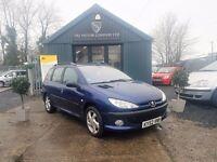 Peugeot 206 2.0 TD HDI (blue) 2002