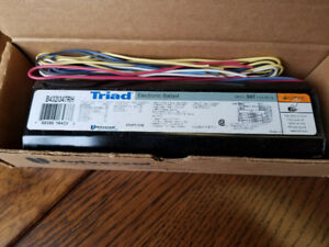 BRAND NEW T8 ELECTRONIC BALLASTS 347 volt commercial use only