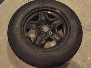 Winter tires/rims/sensors Full set 235/65R17