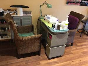 Moving Sale!!! Pedicure Equipment and chairs......