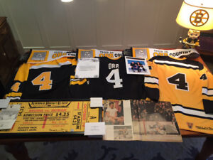 Bobby Orr Ultimate collection Include game worn jersey