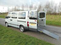 2010 Renault Master 2.5 Dci 4 SEATS+2 WHEELCHAIR Disabled Accessible Vehicle WAV