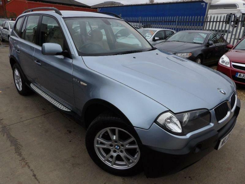 2006 bmw x3 2 0 d se 5dr in peterborough cambridgeshire gumtree. Black Bedroom Furniture Sets. Home Design Ideas
