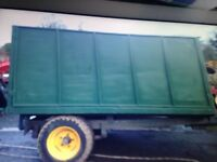 High Sided Tipping Trailer 10ft x 6ft