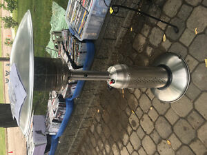 Table top deck heater, new