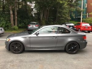 2011 BMW 128i Sport Coupe, red leather-  incl. winter tires