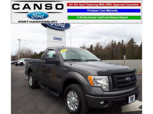 [SOLD!] 2012 Ford F-150 STX Pickup Truck