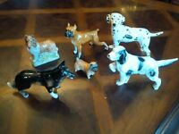 Antique Ceramic Dogs Beswick Coopercraft German Shepherd