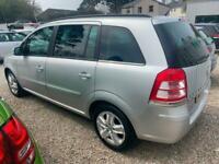 2013 Vauxhall Zafira 1.6i Exclusive 5dr MPV ** 7 SEATER *** Parking Sensors