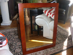 Solid wood Accent mirror - 23.5 inches by 29.5 inches