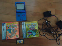 Gameboy advanced sp with games