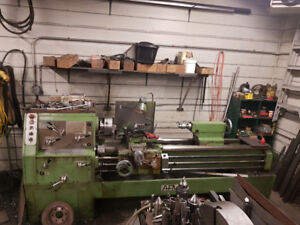 5' Metal Lathe With Accessories