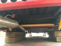 Saxo/ 106 rear axle lowered 40mm (4 months old)