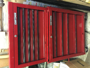 Craftsman tool chest combo