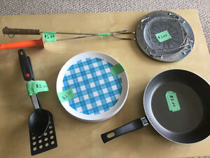 Camping cookware accessories