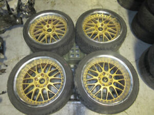 275/35/18/ 265/35/18 STAGGERED TWO PIECES WORK MAG WHEEL JDM