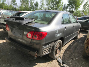 2005 Toyota Corolla  ** FOR PARTS ** INSIDE & OUTSIDE **