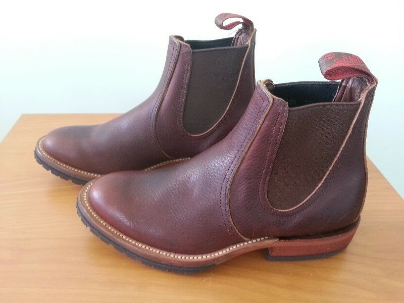 """Red Wing Heritage 6"""" Boots Chelsea Rancher."""