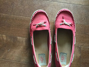 Size 8 women's ugly flats. Leather.