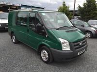 Ford Transit factory fitted 6 seater crew van 2.2 td 85 T280 FWD 2010 10 Reg