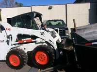 Skidsteer with man for hire