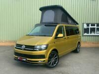 VW T6 150hp LWB Turmeric Camper Van, Campervan, Brand New Conversion, Tailgate