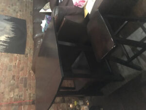 Table and stools MOVING SALE